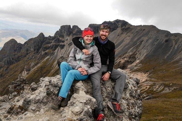 Zuzana s Martinom v Ekvádore