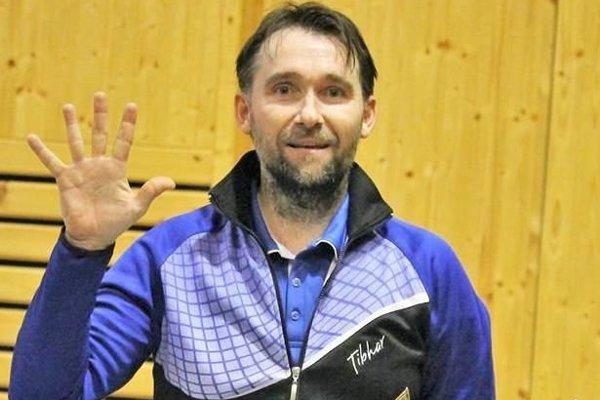 Dvojnásobný majster kraja Ľubomír Majerčík.