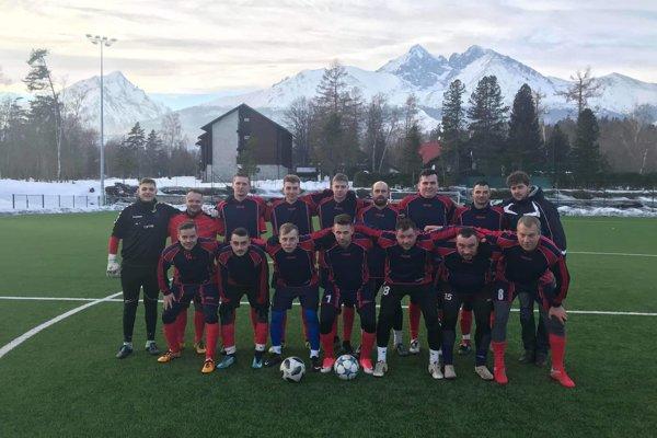 Futbalisti Veľkých Ripnian boli na sústredení vo Vysokých Tatrách.