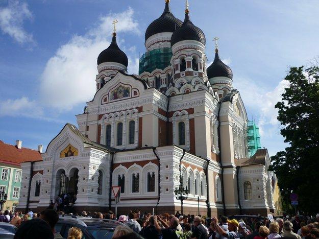 Katedrála Alexandra Nevského, Tallinn.