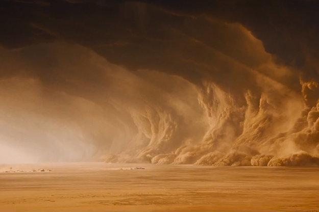 Púšť vo filme Mad Max.