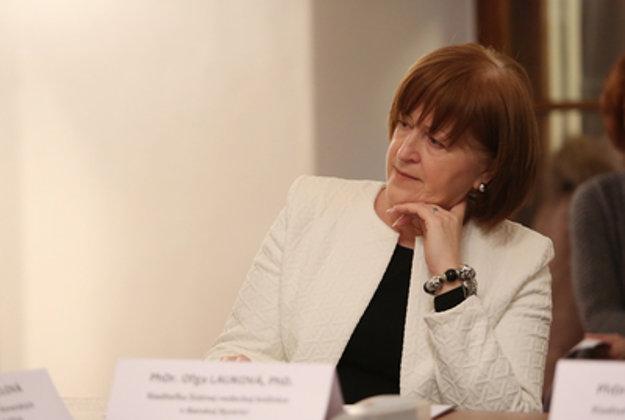 Riaditeľka Štátnej vedeckej knižnice Oľga Lauková