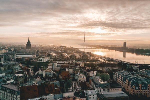 Riga, hlavné mesto Lotyšska
