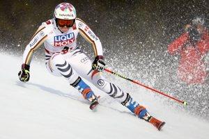 Nemka Viktoria Rebensburgová, 1. miesto po úvodnom kole.