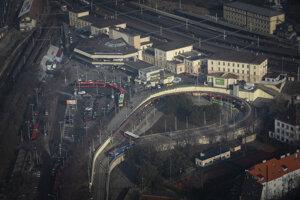 Dopravná situácia - Hlavná stanica