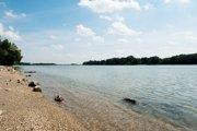 Dunaj z Veľkoléskeho ostrova