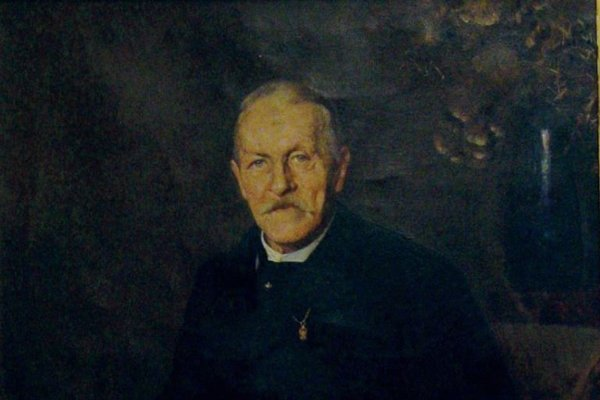 Teofil Stadler na maľbe D. Skuteckého