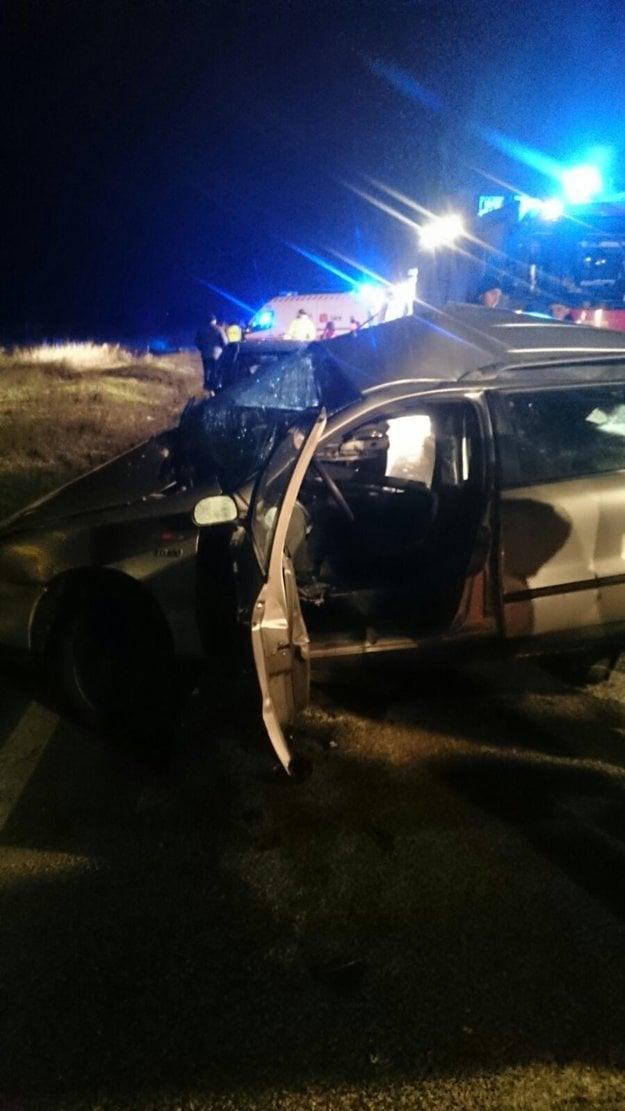 Príčinou nehody bola zrejme  neprimeraná rýchlosť.