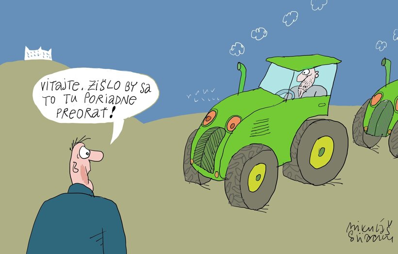 Traktory (Sliacky) 20. február