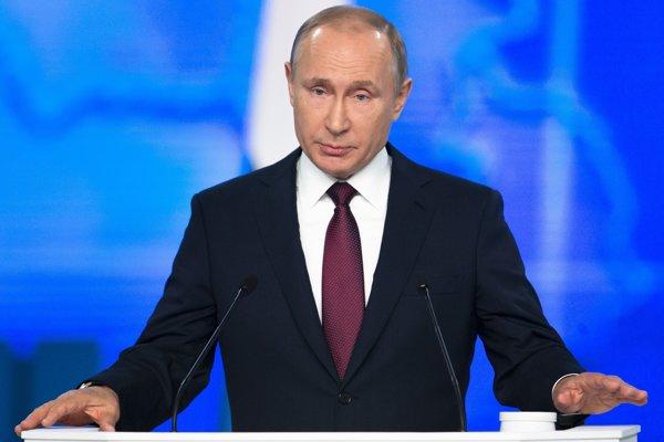 Vladimir Putin predniesol svoj každoročný prejav o stave ruského národa 20. februára.