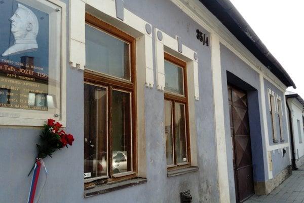 Rodný dom Jozefa Tisa v Bytči.