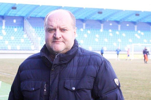 Milan Červeň, podpredseda predstavenstva FC Nitra.