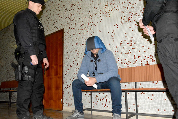 Antonino Vadala na košickom súde, ktorý ho vydal do Talianska.