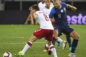 Adam Nemec odohral v reprezentácii 42 zápasov a strelil 13 gólov. Zúčastnil sa ME 2016.  Momentka z roku 2018.