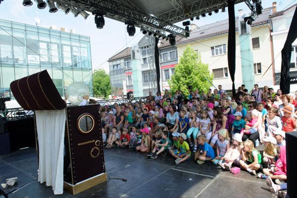 Na festival Dotyky a spojenia je kandidatúra mesta ako ušitá.