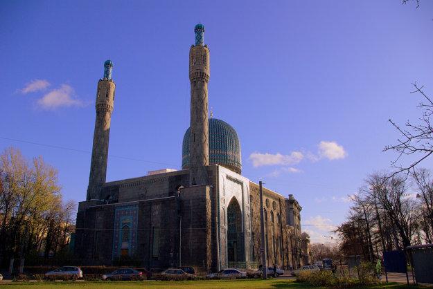 Mešita v Petrohrade