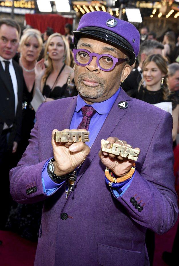 Láska alebo nenávisť, vyberte si, hovorí Spike Lee, držiteľ Oscara za scenár k filmu BlackKlansman.
