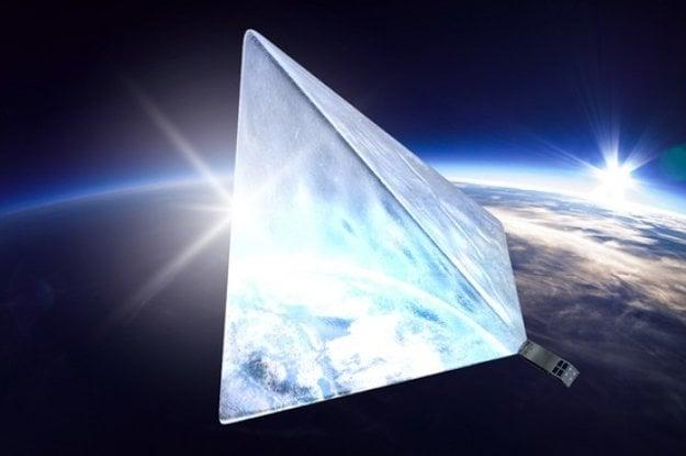 Vizualizácia satelitu Mayak.
