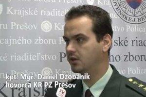 Daniel Džobanik bol hovorcom prešovskej polície 14 rokov.