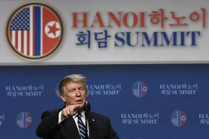 Donald Trump na tlačovej konferencii po summite.