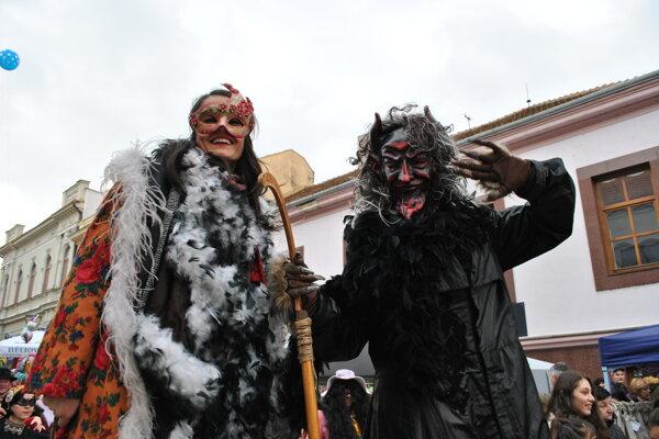 Fašiangové obdobie v Nitre vyvrcholilo obrovskými slávnosťami.