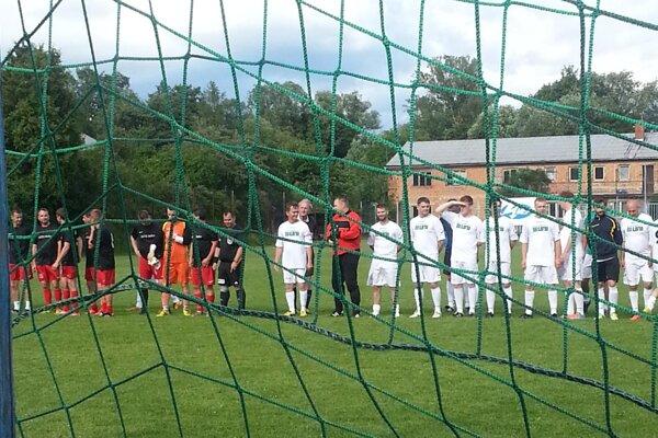 Futbalisti sa predviedli v Čechách počas priateľského zápasu.