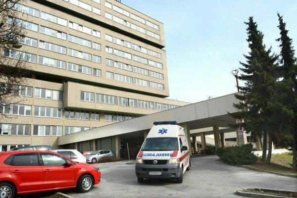 Fakultná nemocnica s poliklinikou J. A. Remaina v Prešove.