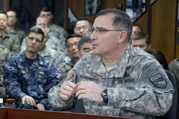 Hlavný veliteľ spojeneckých vojsk NATO v Európe Curtis Scaparrotti.