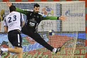 Mario Cvitkovič podal v bráne Prešova veľmi dobrý výkon.