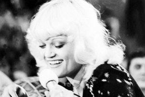 Marcela Laiferová v roku 1976.