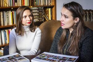 Gabriela Bereghazyová a Zuzana Palovič
