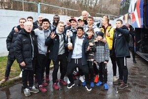 Futbalisti Serede v sobotu oslavovali historický úspech.