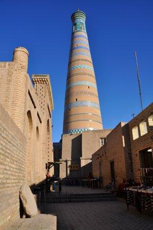 Vysoký minaret Islam Hodža