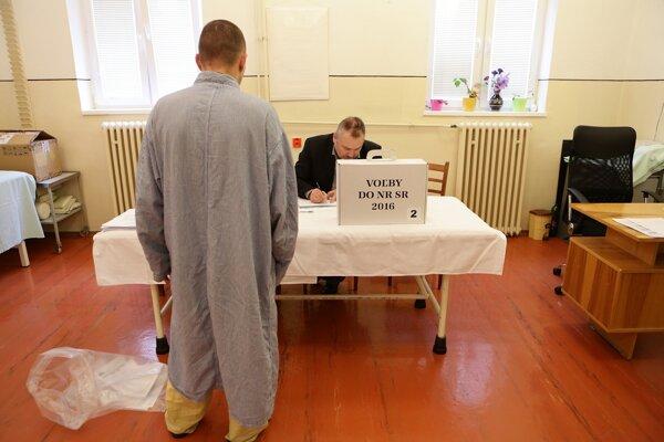 V zariadení je v čase konania volieb 250 odsúdených a 23 obvinených osôb.