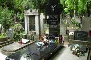 Hrob Jozefa Tisa na Martinskom cintoríne v Bratislave.