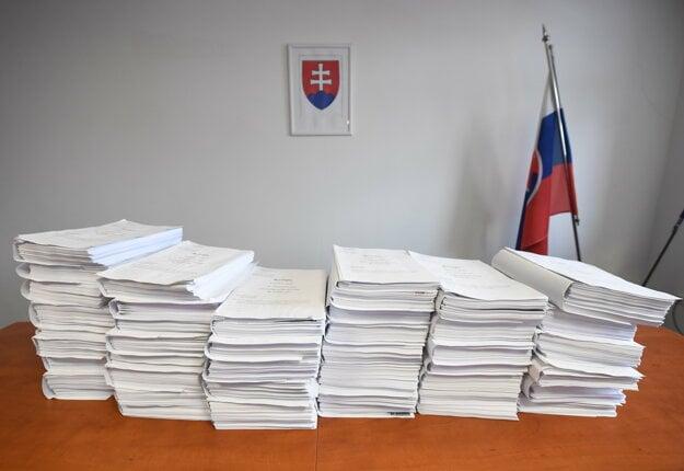 Vyšetrovací spis vo veci vraždy Jána Kuciaka a jeho priateľky Martiny Kušnírovej