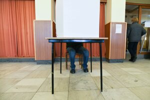 Občas za plentou si vyberá svojho kandidáta v obci Stará Turá.