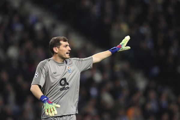 Iker Casillas v službách FC Porto.