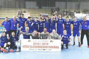 Považskobystričania so Slovenským pohárom.