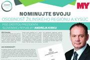 Nominujte svoju Osobnosť žilinského regiónu a Kysúc!