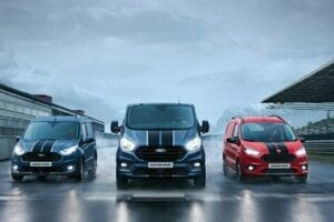 Ford Transit Courier Sport, Ford Transit Custom Sport a Ford Transit Connect Sport