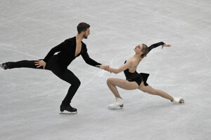 Guillaume Cizeron (vľavo) a Gabriella Papadakisová.