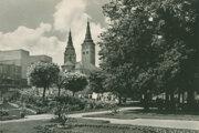 Hlinkovo námestie v roku 1950.