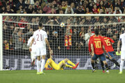 Sergio Ramos rozhoduje o výhre Španielska.