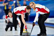 Tím Švajčiarska na MS v curlingu 2019 v dánskom Silkeborgu.