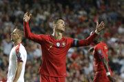 Cristiano Ronaldo sa v zápase zranil.