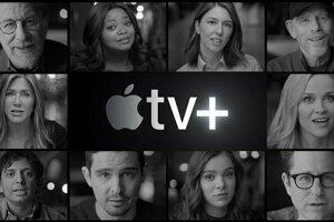 Apple TV+ je nová streamovacia videoslužba od Apple. Na výrobe filmov a seriálov pre platformu sa podieľajú aj Steven Spielberg, Oprah či Reese Whiterspoon.