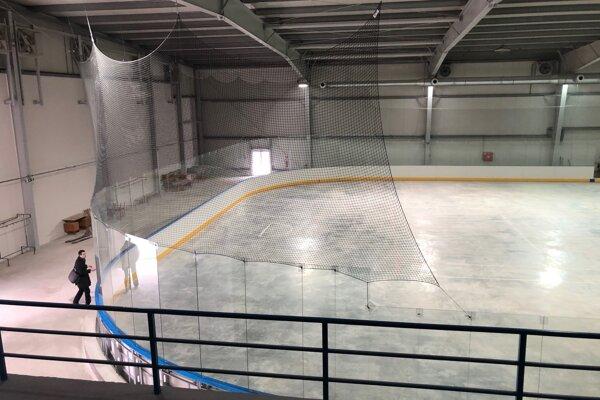 Ľad bude hotový prvého apríla 2019.