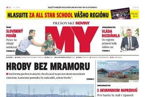Aktuálne číslo Prešovských novín je v predaji do 1. apríla.
