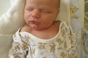 Alex Duraj (3770 g a 52 cm) sa narodil 27. februára Vanese a Dominikovi z Beluše.